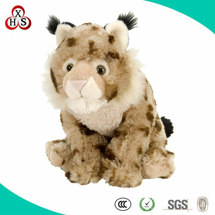 2014 China Soft Toy Top 10 Factory Plush Lynx Toy