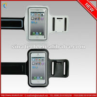 Durable and beautiful design earphone waterproof wristband bag for iphone 5