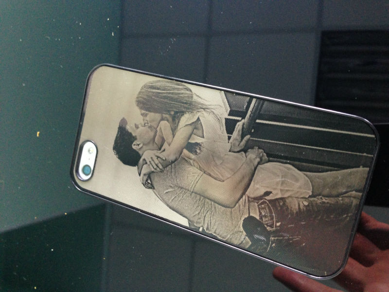 laser engraving cell phone case