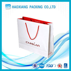 Boutique advertising paper shopping bag folding shopping bags cheap christmas gift bags