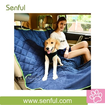 Fashion Pet Car cover Polyester Puppy Car cover