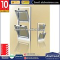 double hung windows double glazing with blind inside, Chain winder awning window