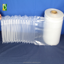 SGS verified transparent flexible packing plastic air bubbles wrapping factory wholesale