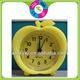 customized funny silicone mini bouncing alarm table clocks