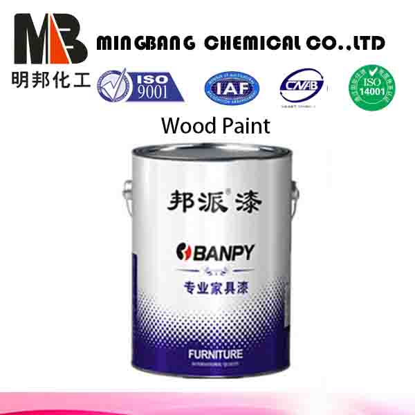 PU white wood deco furniture topcoat paint