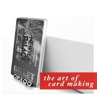 Cheapest! Full color printing Machine Plastic Business Card/CR80 die cut plastic card wholesale