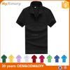 Custom 100% polyester short sleeve man classic polo t-shirt, black, white, yellow