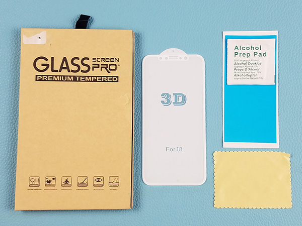 Newest Full AB Glue Note8 3D Tempered Glass Screen Protector for Galaxy Note 8