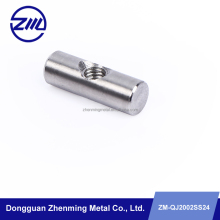 Stainless steel pin roll / hinge pin / axis pin with cross threaded hole