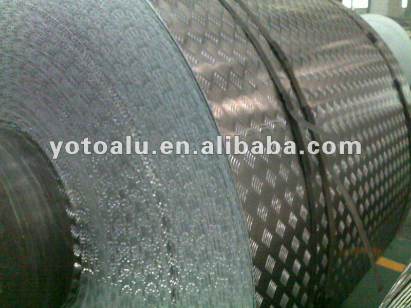 Supply birght finished Aluminum diamond Plate weight manufacturer