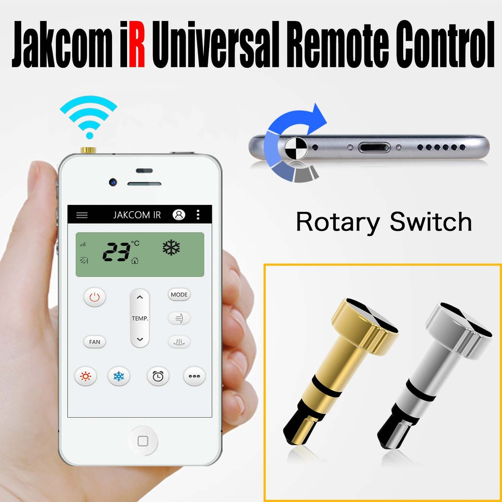 Smart Remote Control For Apple Device IOS/iPhone/iPad/Android Consumer Electronics For Air Conditioner TV DVD Projector