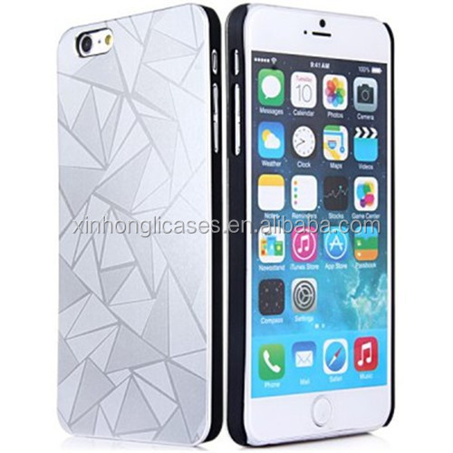 3D Water Cube Hard Plastic Case Cover for Apple iPhone 6 Plus 5.5 Inch, Plastic Case For IPhone 6 Plus Case