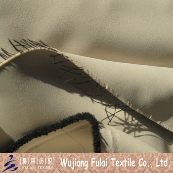 100% Polyester Both Sides Dull Blackout Plain Dyed Fabric