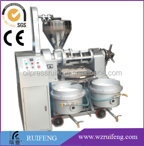Small profitable low residue palm kernel oil processing machine / coconut oil machine