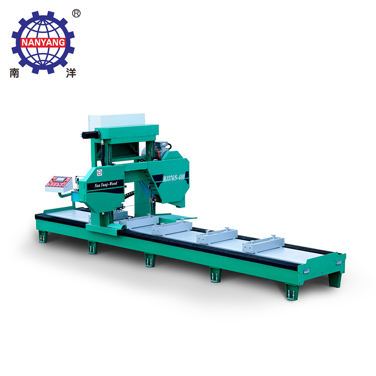 High Outturn Percentage Horizontal Saw Mill Machine Woodworking Vertical Band Sawmill