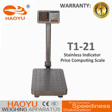 carbon steel spots skidproof weighing scale 120kg