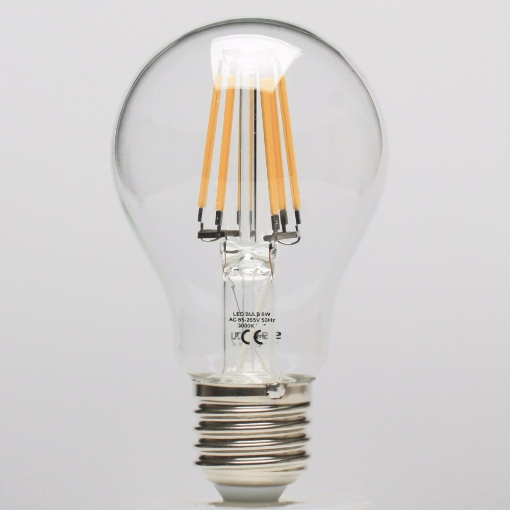 new products special soft curved filament led bulb T45 A19 G80 G95 G125 amber edison style spiral filament