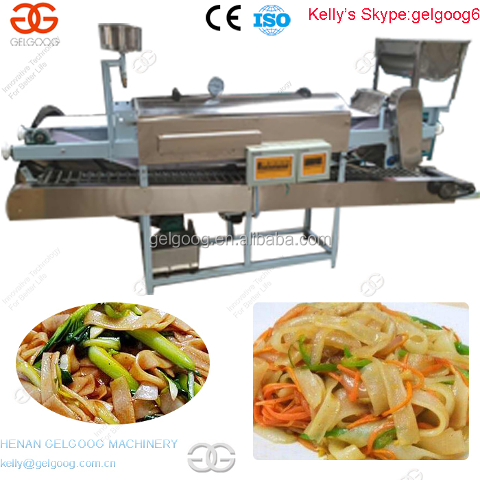Commercail Industrial Fresh Rice Noodle Making Machine with SS