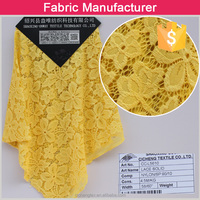 high quality african cord lace/latest design french guipure lace fabric