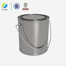 5L industrial chemical engine oil ink paint pail pigment enpty metal tin bucket