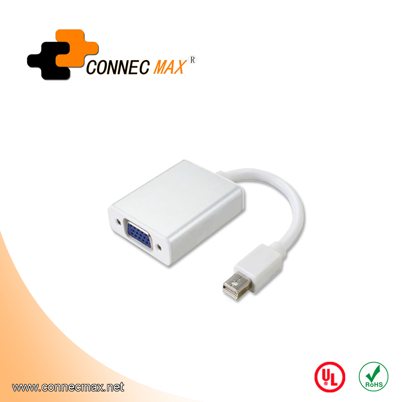 High Quality Mini Displayport Mini DP to VGA HDM I DVI female Adapter Cable for Minitor