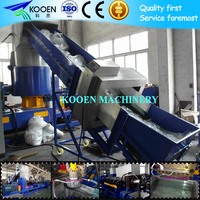 Plastic pe pp film granulation machine for recycling line