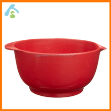 unbreakable melamine mixing bowl set of 3 pcs,colorful plastic mixing bowl