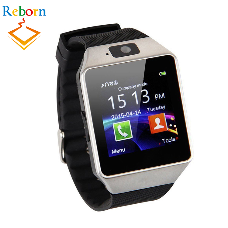 Hot Selling <strong>Android</strong> Bluetooth Sim Card <strong>Phone</strong> Dz09 Smart Watch For Pedometer