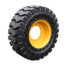 33x12-20 Tire and Wheel replace for Genie Boom Lift S-45 Foam Filled Tire 12-16.5 NHS Solid Rubber Tire