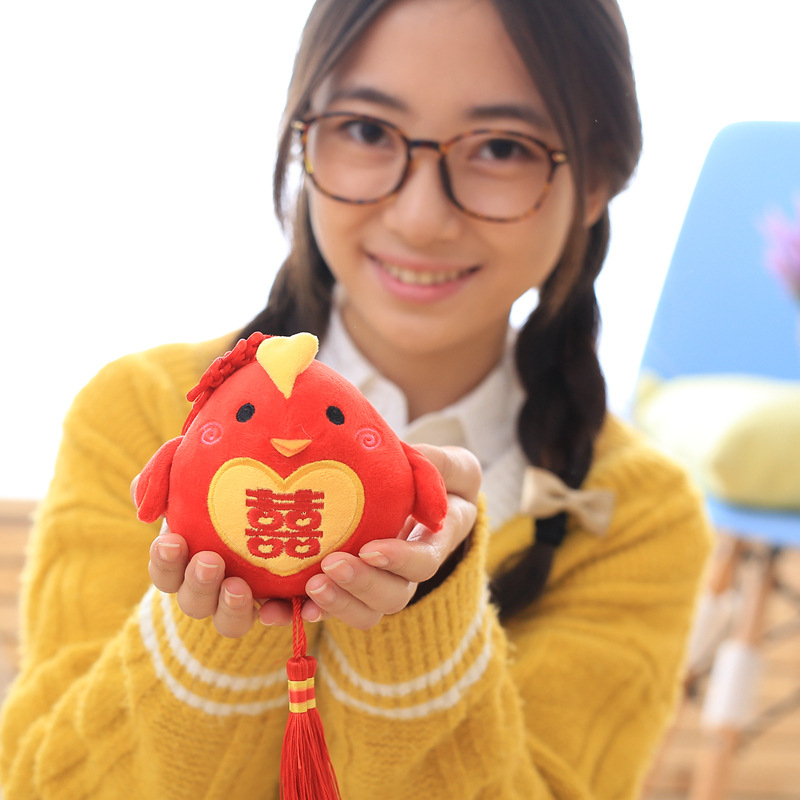 Factory Price 10cm Little Chicken Plush Toys Soft stuffy plush toys different design for you