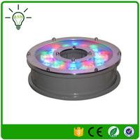 ac24v 18w rgb colorful in ground led swimming pool lights