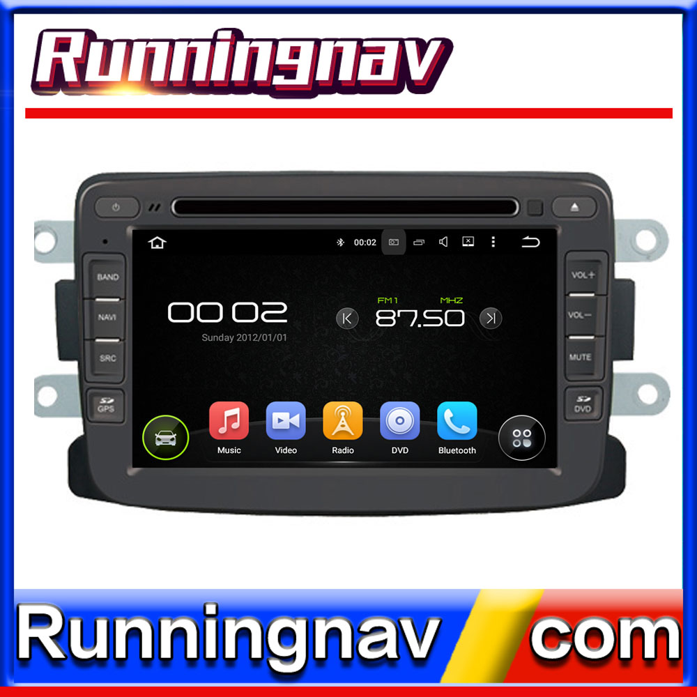 "7"" Android For Renault Duster 2012 - 2013 2 Din Quad Core / Qcta Core HD Car DVD Player GPS Navigation Radio"
