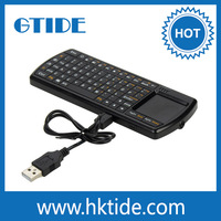 2015 best quality Gtide 2.4G RF tablet pc wireless keyboard mouse