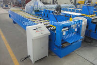 Nice profile Galvanized Roofing Sheet Metal roll forming Machine alibaba supplier