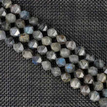 A Grade Faceted Labradorite Nuggets Beads