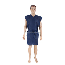PP Non-woven disposable sauna suits, bathrobe,sauna clothing
