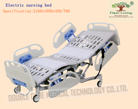 China fully electric hospital bed mechanically nursing bed
