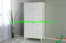 melamine KD design kids bedroom 2 door wardrobe