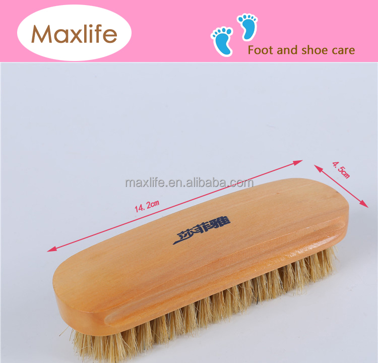 boar animal bristle brush,cleaning hair brush,shoe wash brush