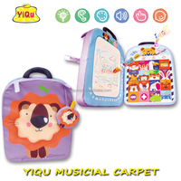 new music water doodle mat bag stuffed toys musical animal toys cartoon bag