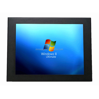 Fanless N2800 Android Windows7 Capacitive Touch Panel Pc With IP65 Waterproof Front Panel