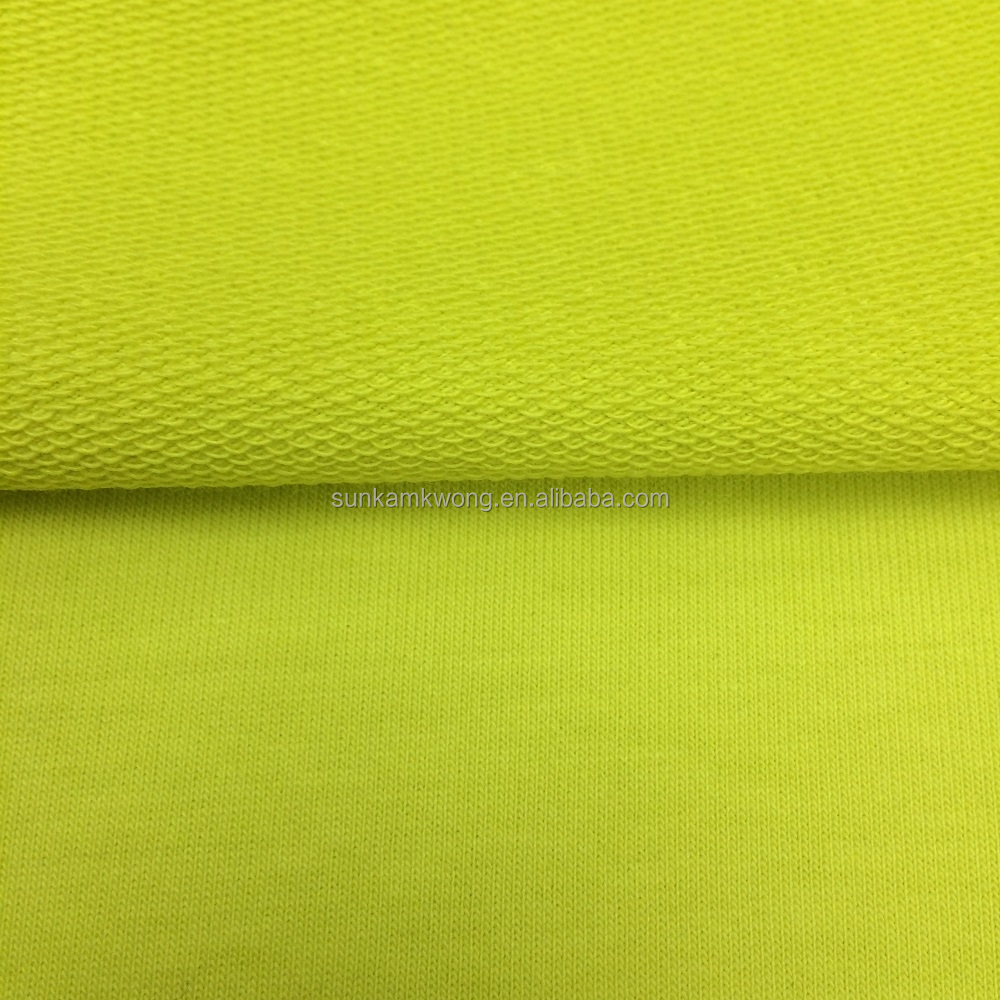 cotton/ polyester/ spandex French Terry