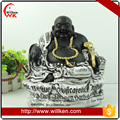 Antique Hand Made Carved Resin Laughing Buddha Statues for Sale