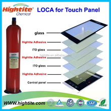 UV cure adhesive for optical elements/ touch screen---HIGHTITE