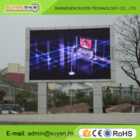 Full color floor stand led advertising P16 outdoor fixed led video wall/led sign/led billboard
