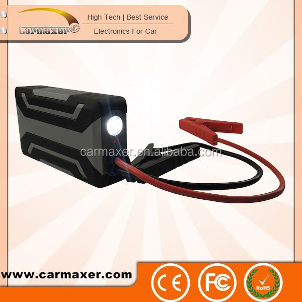 TOP selling 15000mAh car battery cable emergency start auto jump starter