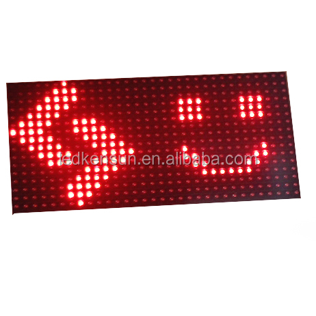 High Brightness <strong>Outdoor</strong> <strong>P10</strong> Single Red Color LED Display Module, popular scrolling programmable led