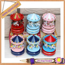 wholesale wooden carousel music box