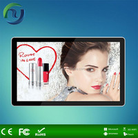 Full size HD Android Wireless advertising media player/ad player