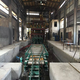 Steel Billet Continuous Casting Machine with the size in 60mm-150mm